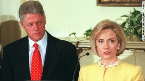 president 42 and wife