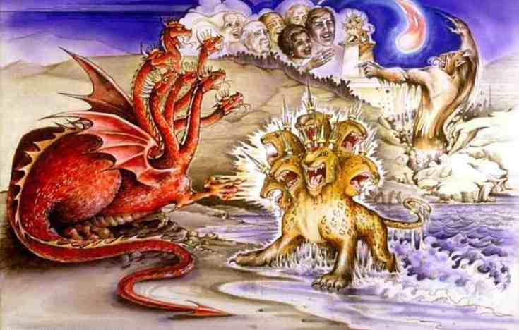 TWO BEASTS OF REVELATION 13