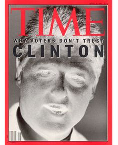 bill clinton time magaizine 1