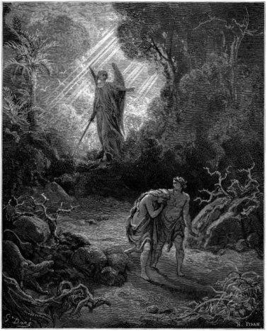 ADAM AND EVE EXPULSION