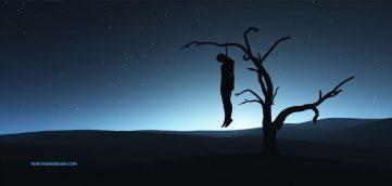 judas hangs himself