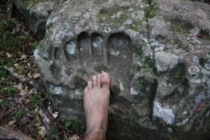 PARAGUAY GIANT FOOTPRINT
