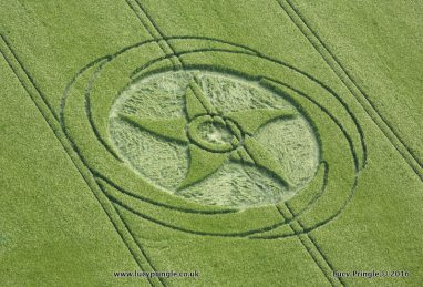 SILBURY HILL CROP CIRCLE