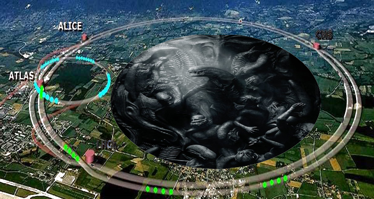 RAISING HELL WITH CERN AND SATURN – END TIMES: DARKNESS DESCENDING